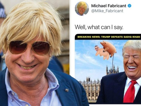 Outrage after Michael Fabricant MP tweets sexual photo of Sadiq Khan as a pig