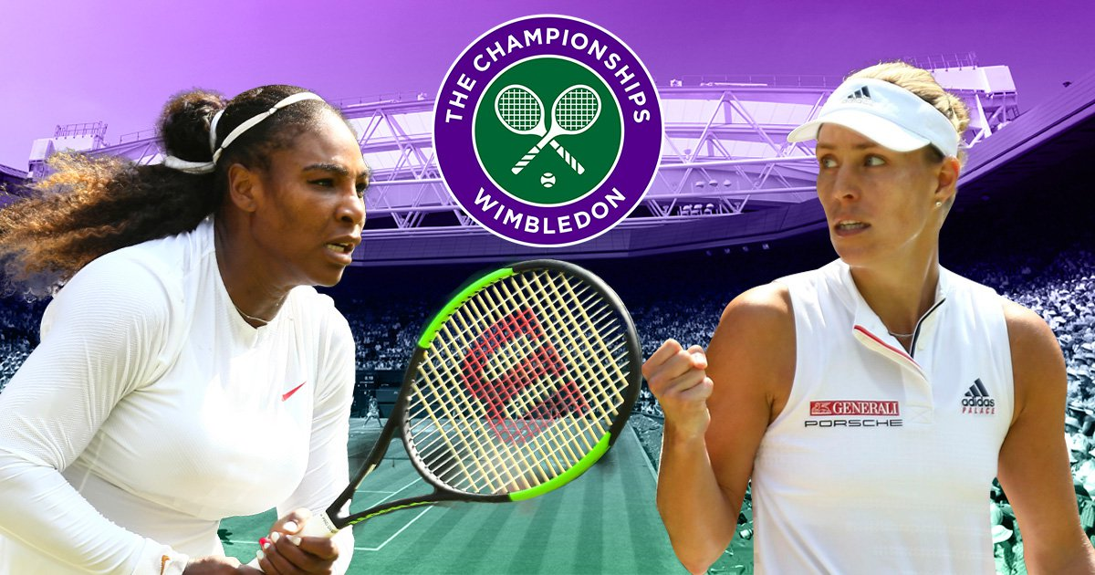 Angelique Kerber can deny Serena Williams historic win in Wimbledon final rematch