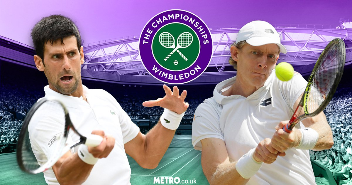 After ending Federer & Nadal dominance, Djokovic & Anderson eye Wimbledon glory