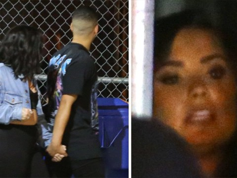 Demi Lovato seen holding hands with Halsey's ex G-Eazy as she leaves nightclub