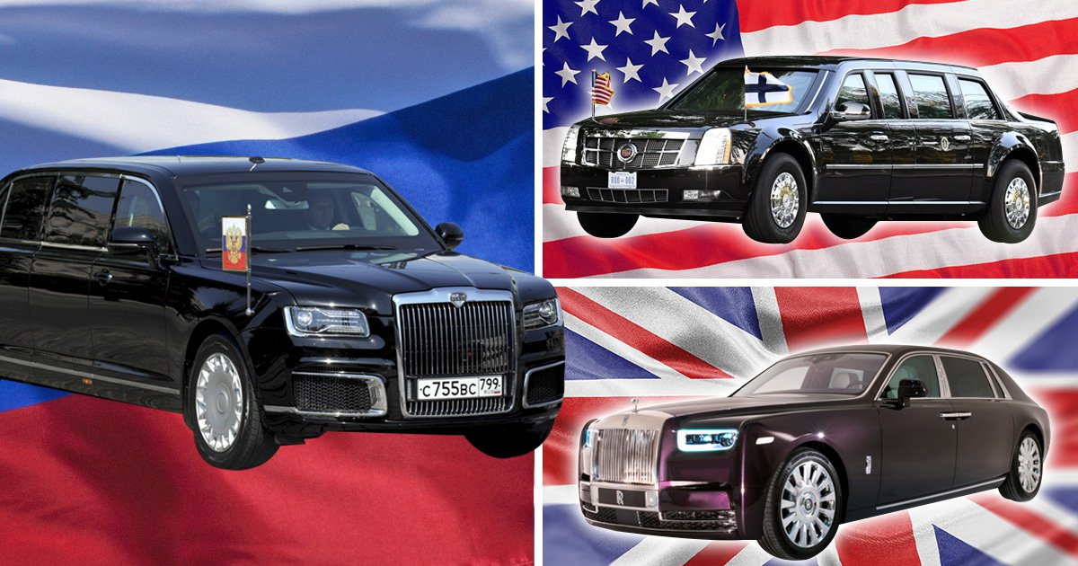 Putin's new limo looks like a Rolls Royce mated with The Beast