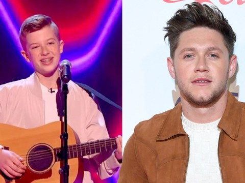 Niall Horan wowed by The Voice Kids contestant 14-year-old Harry