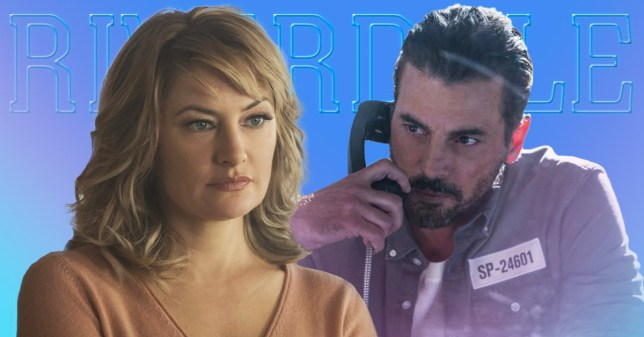 Riverdale's Skeet Ulrich and Mädchen Amick have teased a Falice storyline Picture: The CW)
