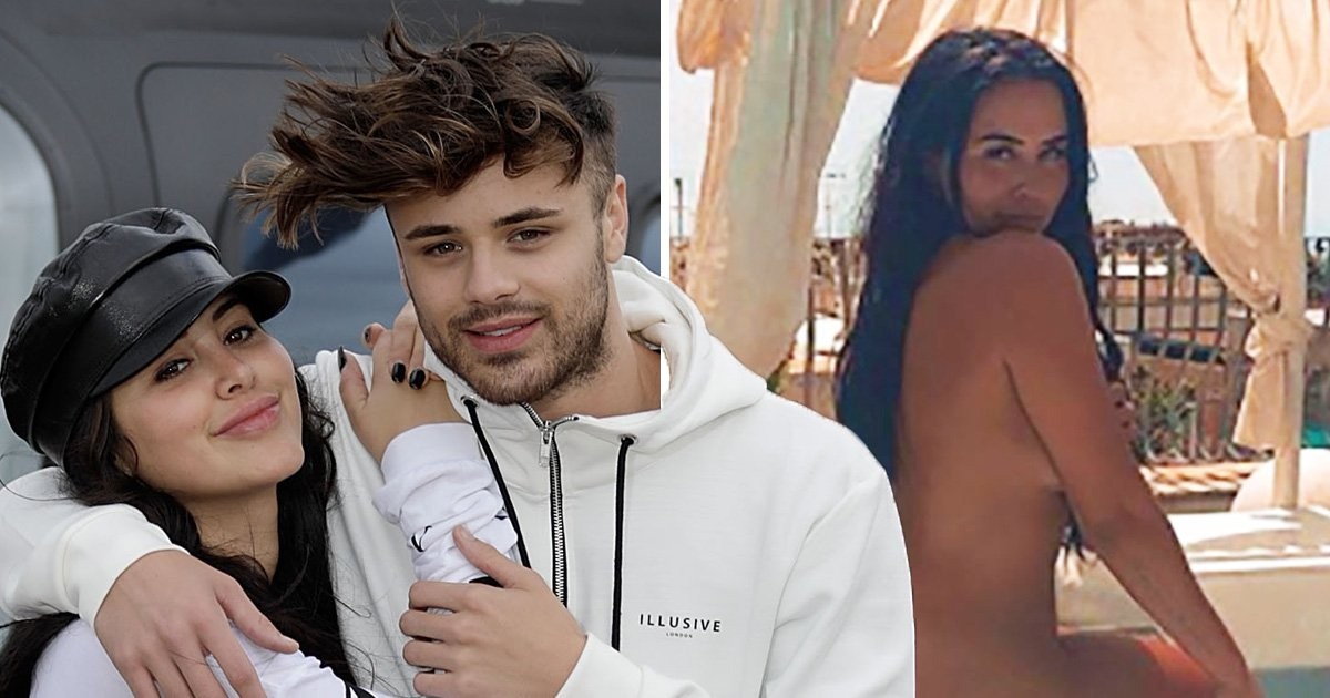 Marnie Simpson ignores Casey Johnson split rumours by posing in her birthday suit