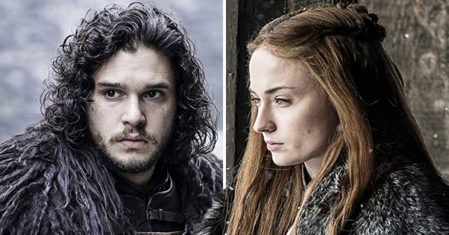 Jon Snow and Sansa Stark