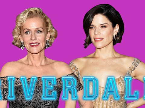 Riverdale's newcomer Penelope Ann Miller best not be Jughead's mother because that role is reserved for Neve Campbell – just saying