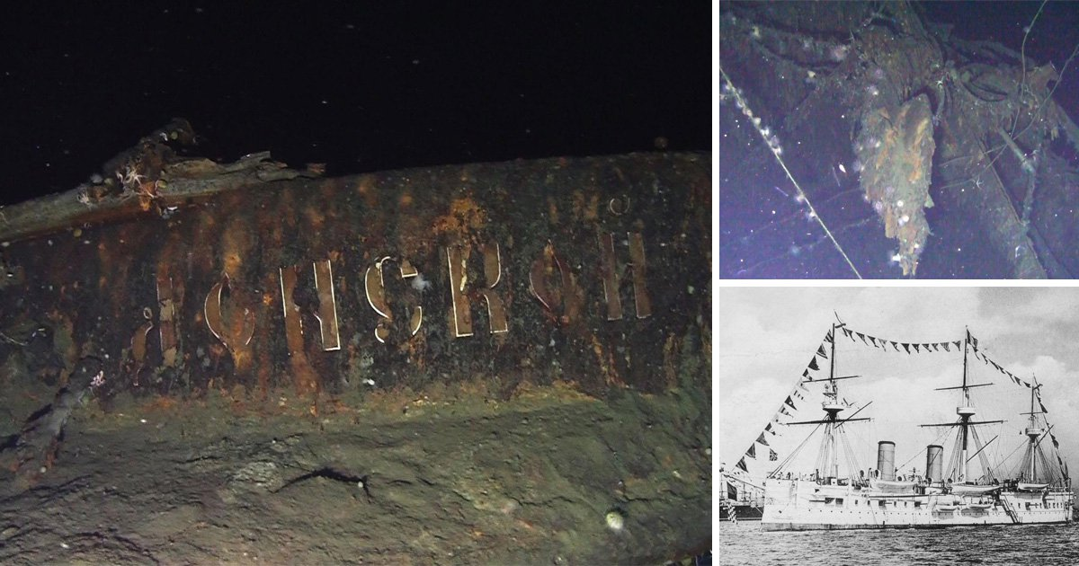 Divers find shipwreck that sank with £100,000,000,000 of gold on board