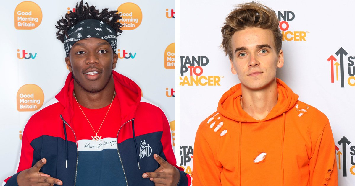 KSI refuses to consider 'downgrades' Joe Sugg or Jack Maynard for boxing match after Logan Paul