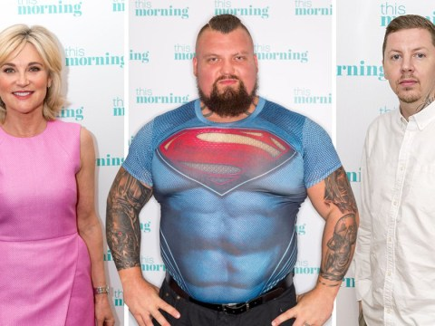 Professor Green, World's Strongest Man and Anthea Turner sign up to live in solitary confinement for Channel 5 show