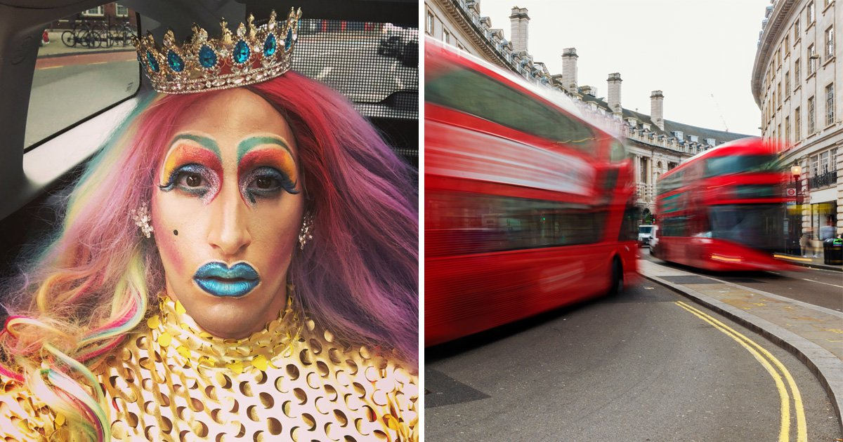 Bus passengers 'did nothing' as drag queen suffered transphobic attack