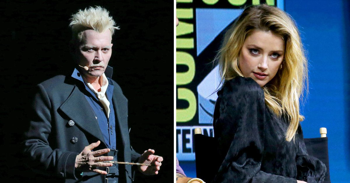 Fans outraged after Johnny Depp turns up to same Comic-Con panel as Amber Heard