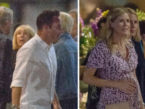 Ant McPartlin and Anne-Marie Corbett share dinner date with Declan Donnelly and Ali Astall