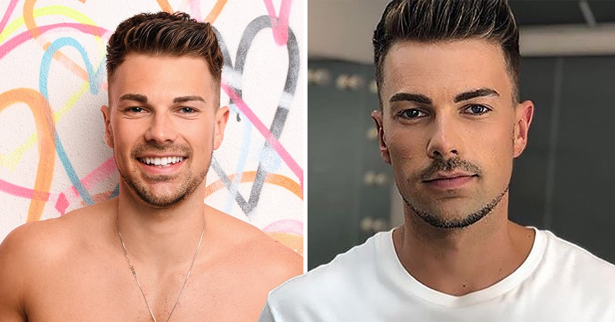 Sam bird gets eyebrows professionally done after cruel trolling (Picture: @marcosgmakeup, ITV)