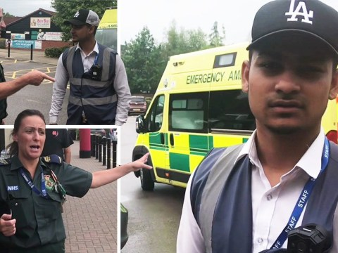 Traffic warden tries to give parking ticket to on-call paramedic outside Tesco