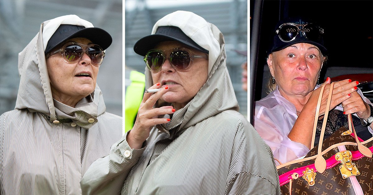 Roseanne Barr goes incognito ahead of Sean Hannity interview following racist tweet