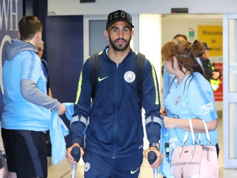 Riyad Mahrez a doubt for Manchester City's clash with Chelsea due to ankle injury