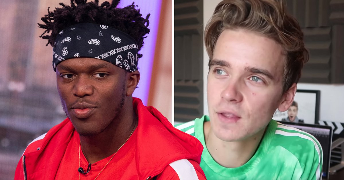 YouTuber Joe Sugg responds to KSI after he called him a 'downgrade'