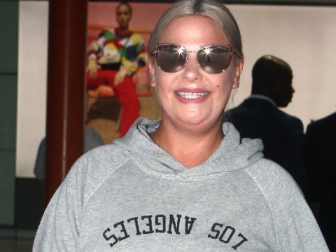 Lisa Armstrong is a woman on a mission as she strides into London following LA trip