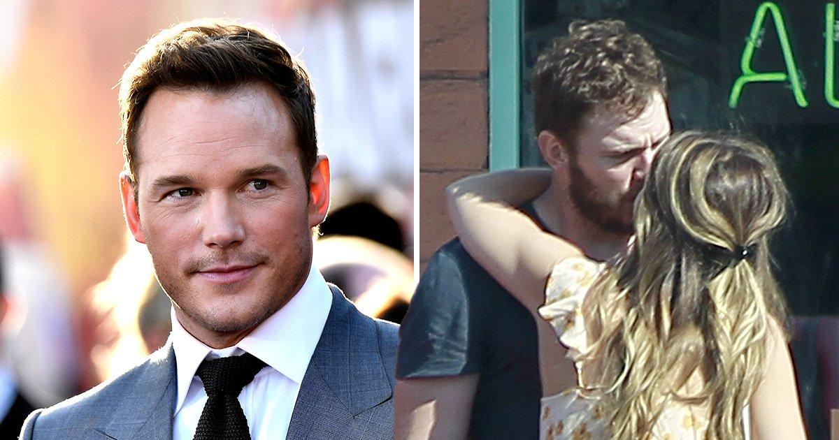 Chris Pratt pictured kissing Katherine Schwarzenegger a year after splitting from Anna Faris