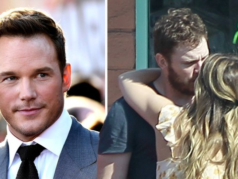 Chris Pratt pictured kissing Katherine Schwarzenegger a year after splitting from Anna Faris
