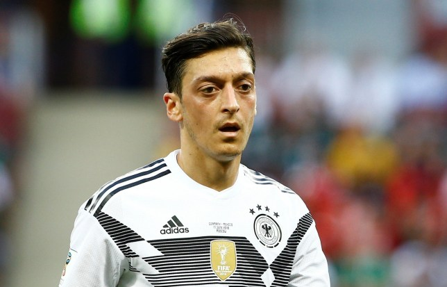 MOSCOW, RUSSIA - JUNE 17: Mesut Ozil of Germany is seen during the 2018 FIFA World Cup Russia Group F match between Germany and Mexico at the Luzhniki Stadium Moscow in Moscow, Russia on June, 17, 2018. (Photo by Sefa Karacan/Anadolu Agency/Getty Images)