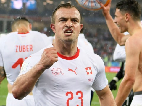 Xherdan Shaqiri joins Liverpool, according to Switzerland national team