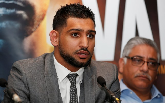 Boxing - Amir Khan press conference - Arena Birmingham, Birmingham, Britain - June 28, 2018 Amir Khan during the press conference Action Images via Reuters/Craig Brough