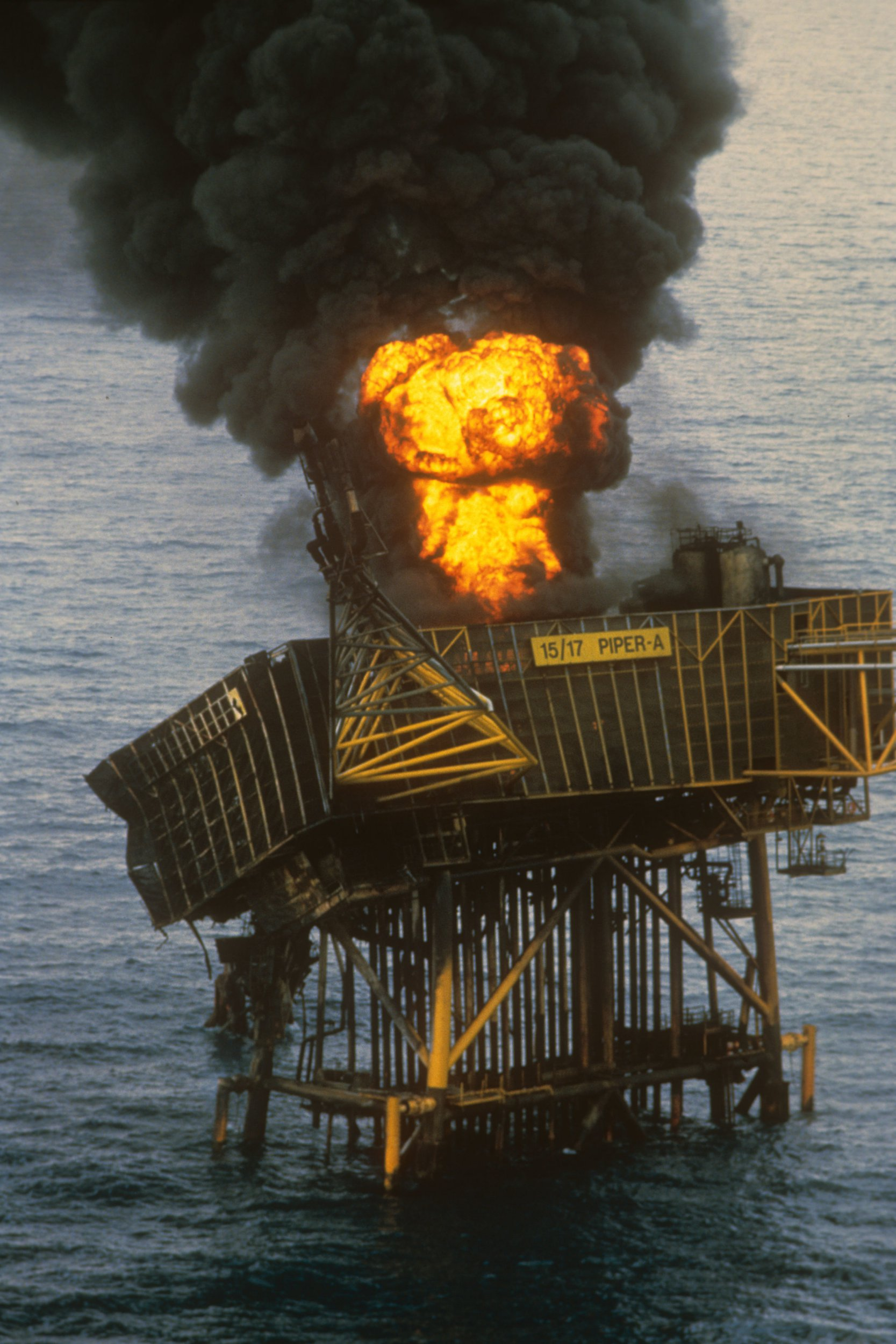 File photo dated 08/07/88 of a fire burning on the North Sea oil rig Piper Alpha following an explosion that killed 167 men. The 30th anniversary of the Piper Alpha disaster falls later this week, with those who perished in the tragedy to be remembered at a special memorial service. PRESS ASSOCIATION Photo. Issue date: Monday July 2, 2018. The evening event will take place in Aberdeen on Friday at the Piper Alpha Memorial Garden in Hazlehead Park. See PA story ANNIVERSARY PiperAlpha. Photo credit should read: PA Wire