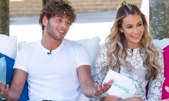 EDITORIAL USE ONLY. NO MERCHANDISING Mandatory Credit: Photo by Ken McKay/ITV/REX/Shutterstock (9732591an) Eyal Booker and Olivia Attwood 'This Morning' TV show, London, UK - 02 Jul 2018 LOVE ISLAND: THE REACTION & AN EXCLUSIVE CHAT WITH THE LATEST DUMPEE EYAL Olivia Attwood is here with the latest reaction from the weekend?s Love Island. She joins us alongside two of the show?s biggest fans - The Speakmans - for their take on the action in the villa. And we?re getting an exclusive chat with Eyal after he became the latest contestant to have been dumped!