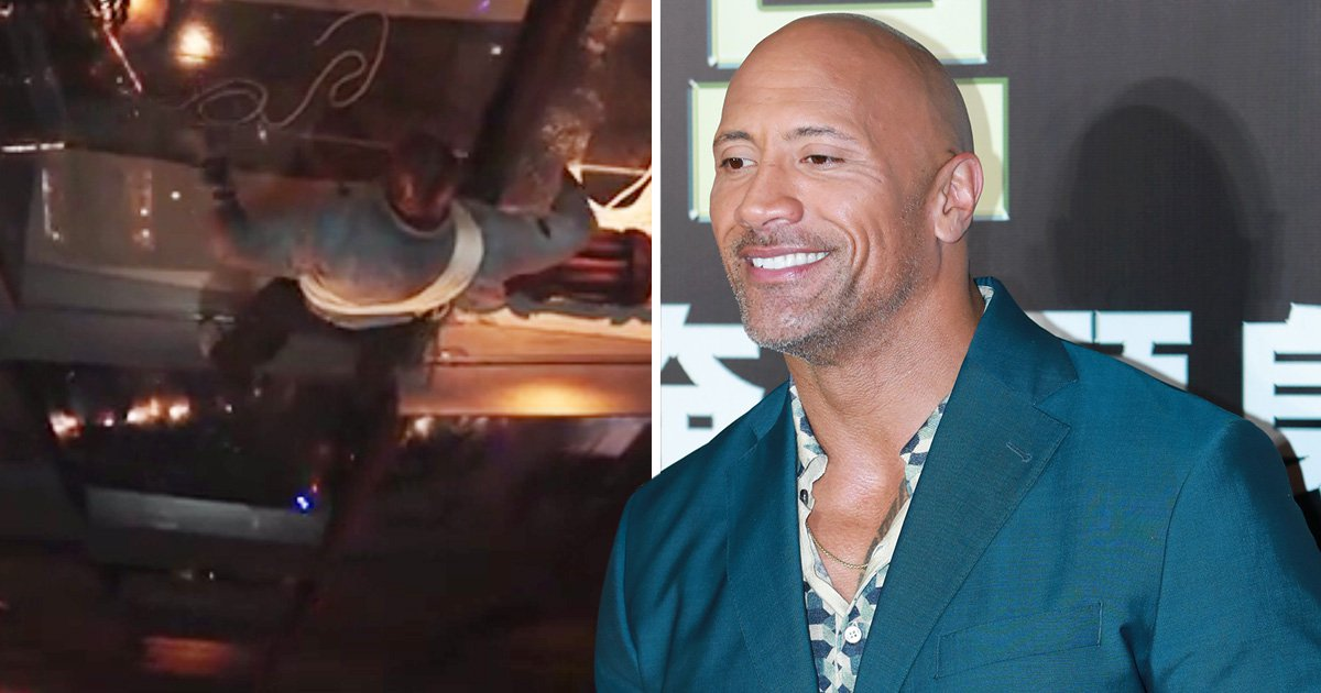 Dwayne Johnson's latest stunt is 'stupid' – he even says so