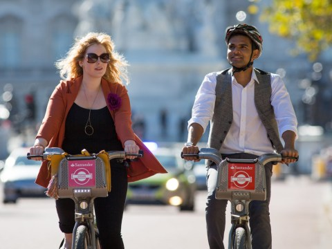 Record numbers of people are cycling in London in the heatwave