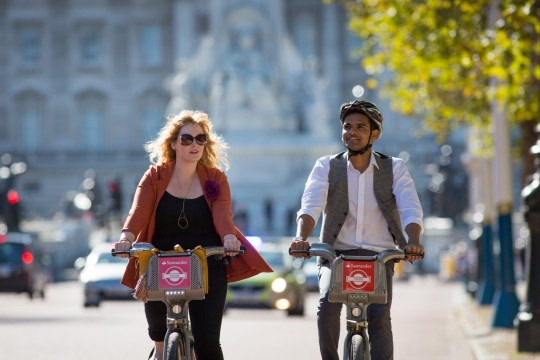 Record breaking month for Boris Bikes as people enjoy the heatwave