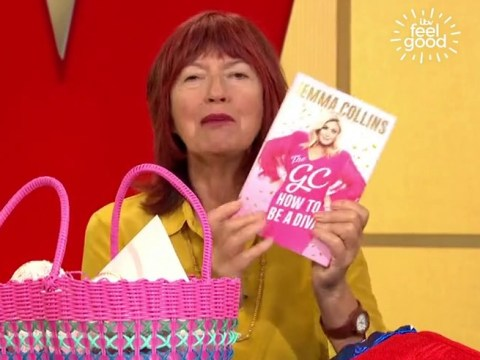Janet Street Porter unceremoniously lobs Gemma Collins book onto the floor during Loose Women farewell