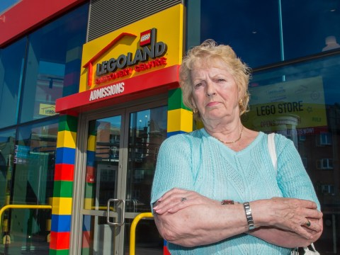 Why was this pensioner refused entry to Legoland?