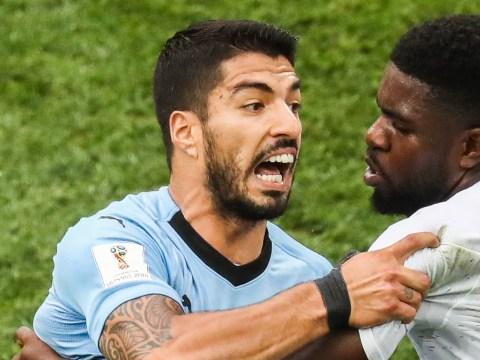 Luis Suarez hits out at Antoine Griezmann after France beat Uruguay