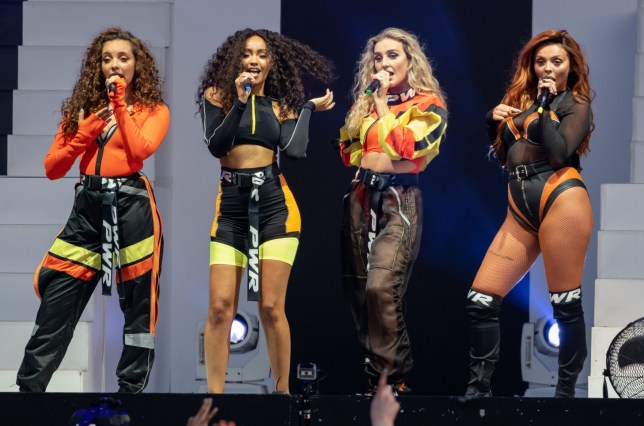 Mandatory Credit: Photo by James McCauley/REX/Shutterstock (9744360a) Little Mix Little Mix Summer Hits tour opening night, Hove, UK - 06 Jul 2018