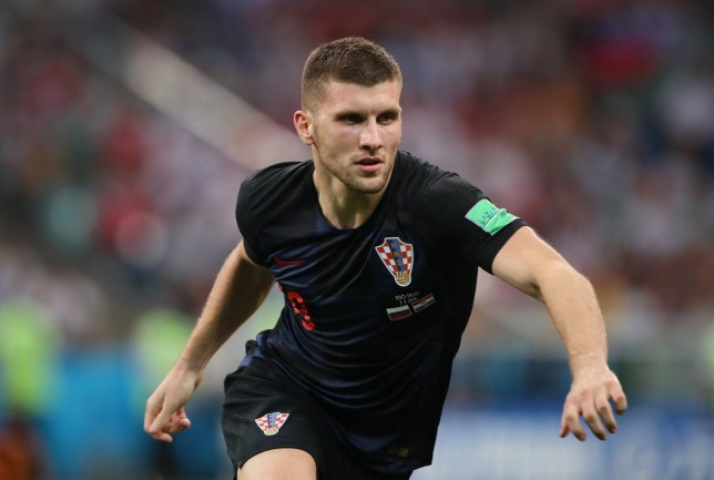 SOCHI, RUSSIA - JULY 07: Ante Rebic of Croatia in action during the 2018 FIFA World Cup Russia Quarter Final match between Russia and Croatia at Fisht Stadium on July 7, 2018 in Sochi, Russia. (Photo by Matthew Ashton - AMA/Getty Images)