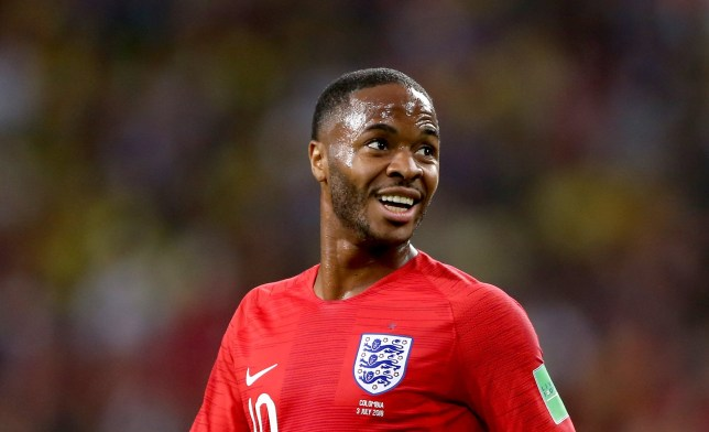 "File photo dated 03-07-2018 of England's Raheem Sterling. PRESS ASSOCIATION Photo. Issue date: Sunday July 8, 2018. Raheem Sterling paid tribute to England's fans after helping the team reach a ""dream"" World Cup semi-final. See PA story WORLDCUP England Sterling. Photo credit should read Tim Goode/PA Wire"