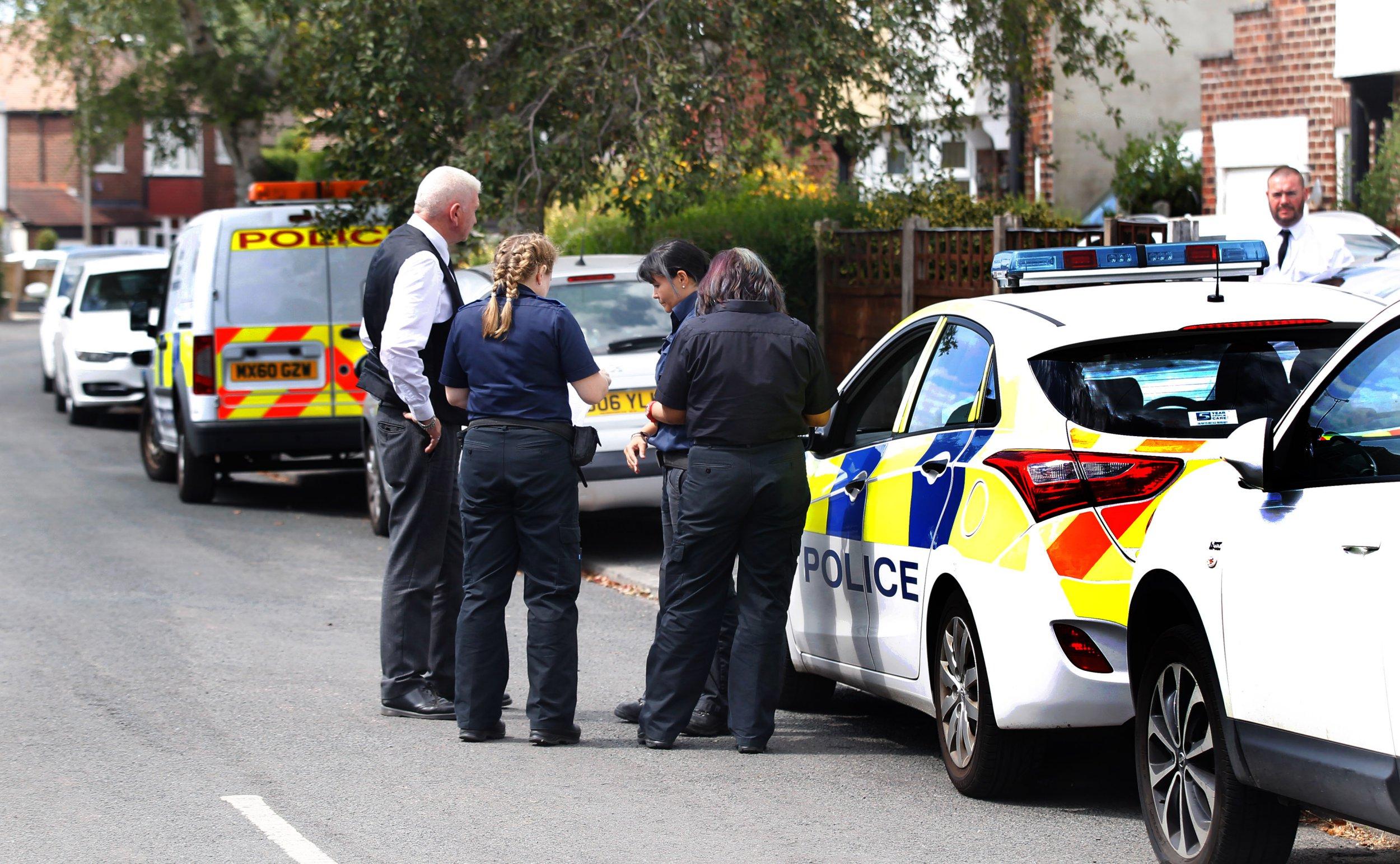 Police Incident at Frances Avenue Gatley.