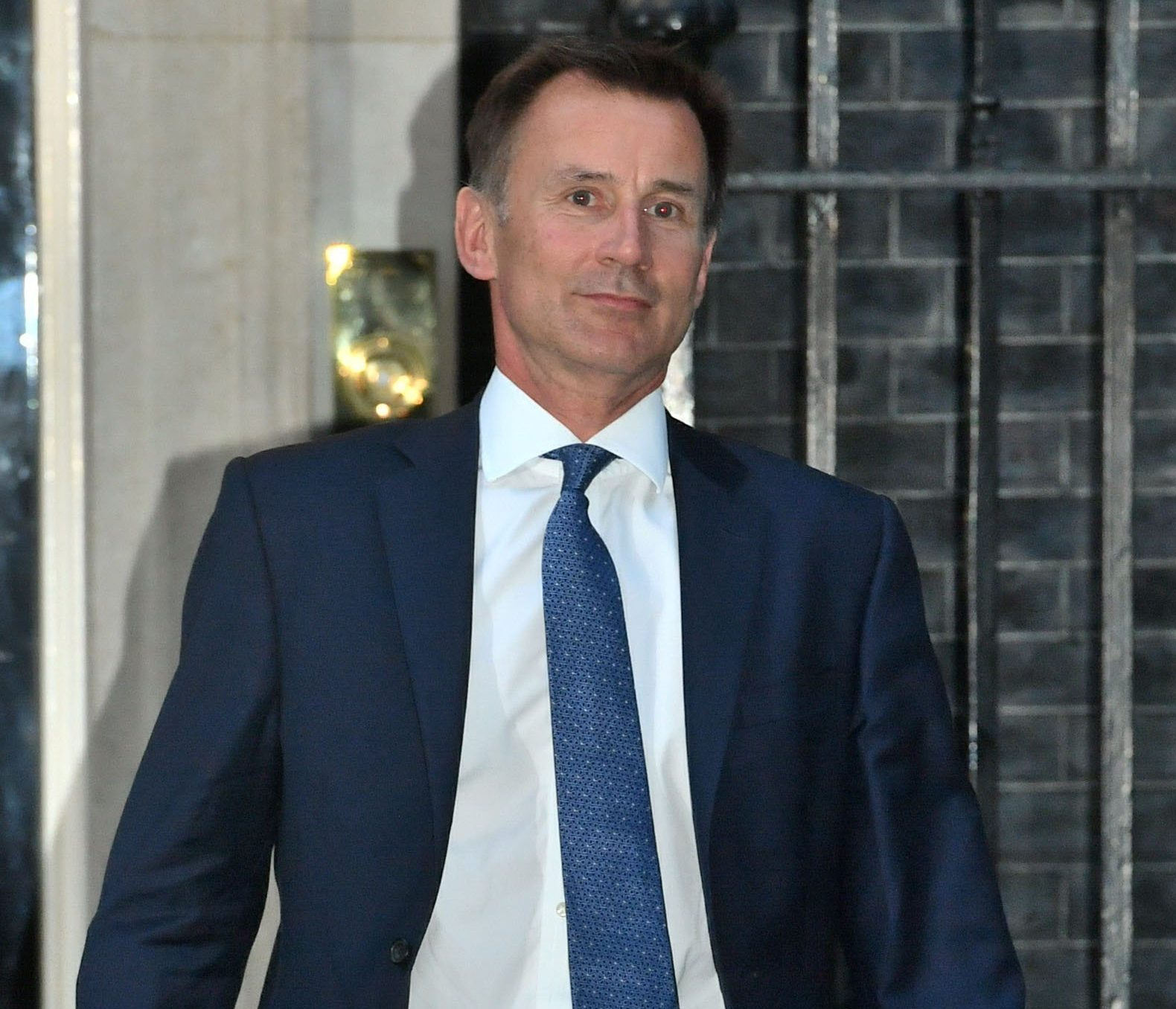 Jeremy Hunt leaves 10 Downing Street, London, where he was appointed as the new Foreign Secretary, following Boris Johnson's resignation. PRESS ASSOCIATION Photo. Picture date: Monday July 9, 2018. See PA story POLITICS Brexit. Photo credit should read: John Stillwell/PA Wire