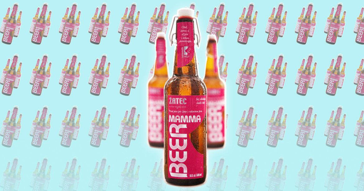 This beer was specifically made for breast cancer patients