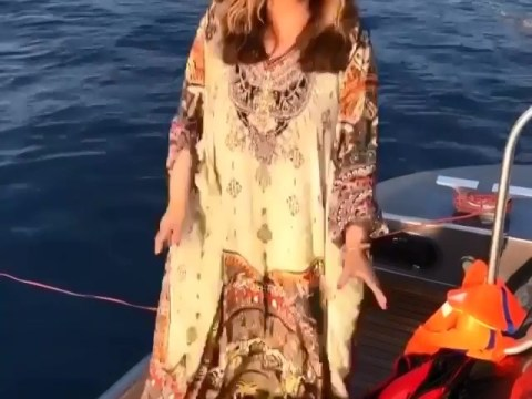 Tina Knowles is every adorably embarrassing grandmother on holiday with Blue Ivy