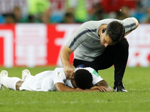 Marcus Rashford and England team-mates break down in tears after Croatia defeat