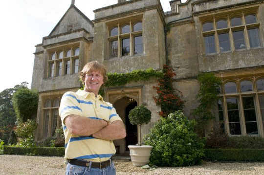 Mandatory Credit: Photo by Rob Cousins/REX/Shutterstock (2325030e) Sir Christopher Evans at home in the Cotswolds Professor Sir Christopher Evans, Cotswolds, Britain - 08 Oct 2010