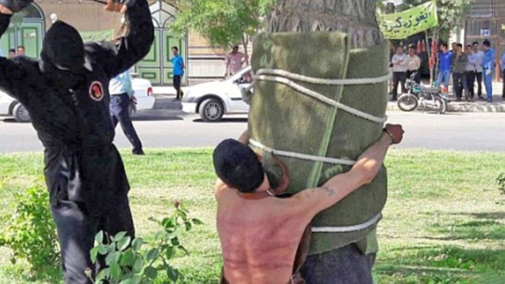 Man publicly flogged 80 times for drinking alcohol as a child