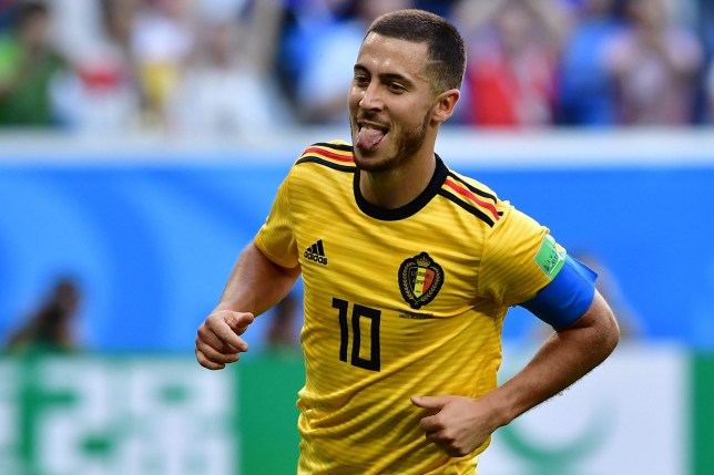 6f7c87424 Chelsea news: Eden Hazard names himself as World Cup Golden Ball ...