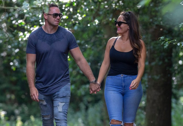 EXCLUSIVE: EXCLUSIVE *ONLINE EMBARGO 4pm , 15 JULY 2018. ?300 online set fee* Kieran Hayler was seen with his new girlfriend Michelle Penticost as they took a stroll in their local woods in Sussex, UK. The pair were seen getting cosy as they were walking back to their car. Pictured: Kieran Hayler Ref: SPL5009388 110718 EXCLUSIVE Picture by: SplashNews.com EXCLUSIVE *ONLINE EMBARGO 4pm , 15 JULY 2018. ?300 online set fee* Splash News and Pictures Los Angeles: 310-821-2666 New York: 212-619-2666 London: 0207 644 7656 Milan: +39 02 4399 8577 Sydney: +61 02 9240 7700 photodesk@splashnews.com World Rights