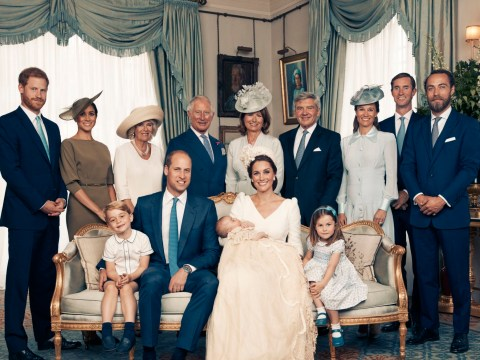 New photos of Prince Louis with the proud Royal family at his Christening