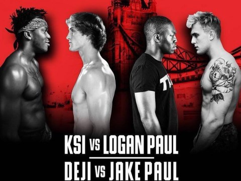 KSI and Logan Paul's fight will cost £6 for you to watch on YouTube