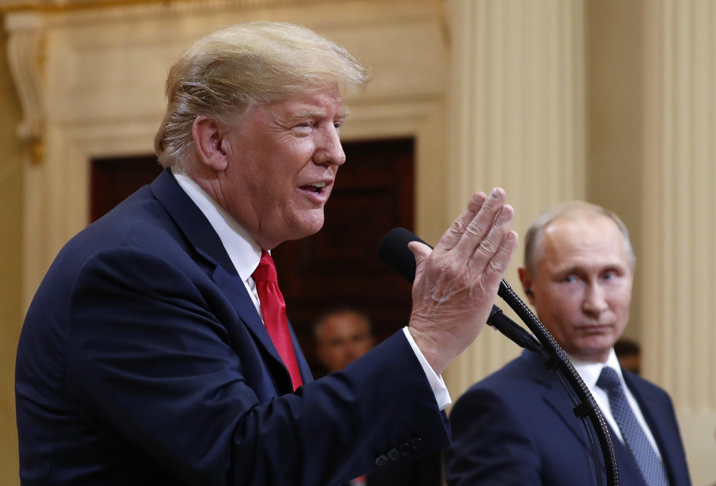 Trump calls negative coverage of his Putin meeting 'fake news'